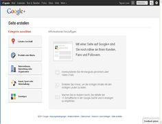 Anleitung : Anleitungen zu  Google Plus, Google  - Unternehmensseite und / oder Produktseiten erstellen.   Da Google die grösste Suchmaschine im Netz ist und Google Plus Seiten jetzt schon bei den Suchergebnissen berücksichtigt werden sollten Sie unbedingt neben einer privaten G+ Seite auch  eine  Unternehmensseite und / oder Produktseiten erstellen. http://mygplus/mrlove