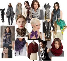"""""""Ways to Wear a Scarf"""" by imogenl on Polyvore"""
