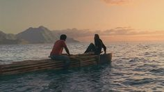 "2.02 ""Adrift"" – SAWYER: How about that? [They can see the Island.] The current brought us back. We're home."