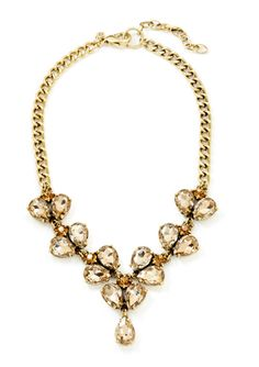 On ideel: LESLIE DANZIS Drop Crystal Necklace