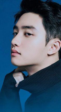 """Can someone be this handsome? Kyungsoo, Park Chanyeol, Exo Lockscreen, Young K, Kim Minseok, Chansoo, Exo Korean, Exo Ot12, Do Kyung Soo"