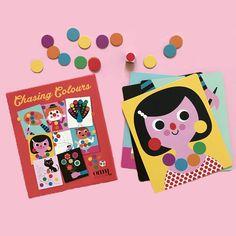 Dobbelspel kleuren Ingela from www.kidsdinge.com #Speelgoed #Cadeautjes #Kinderkamer #Kids #Kinderkameraccessoires #Onlineshop #Brasschaat