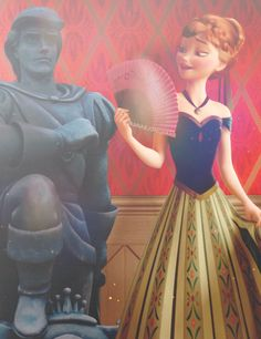 The statue is Prince Eric from The Little Mermaid. Oh my Disney. Images Disney, Art Disney, Disney Films, Disney And Dreamworks, Disney Love, Disney Magic, Disney Pixar, Frozen And Tangled, Disney Frozen