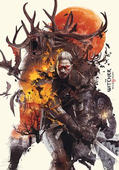 THE WITCHER 3 – Poster Design Published by Riz