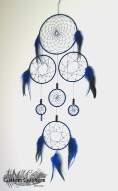 Monochromatic Extra Large Dreamcatcher  Custom by CustomCatchers