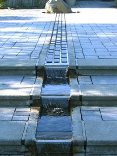 Add a pond or water feature. Unless there's some other water source right nearby, providing fresh water. You can't deny – a water feature in the garden really bumps up the overall ambiance. Landscape Architecture, Landscape Design, Garden Design, Outdoor Spaces, Outdoor Living, Indoor Outdoor, Water Features In The Garden, Backyard Landscaping, Backyard Ideas
