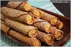 Хрустящие вафельные трубочки (Пицелли) с кремом. Плюс немного истории! | Blog Loravo: Кулинарные записки дизайнераBlog Loravo: Кулинарные записки дизайнера