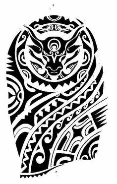Image result for tattoo maori na perna bracelete