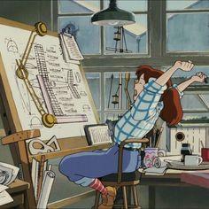 Animes Wallpapers, Cute Wallpapers, Studio Ghibli Characters, Studio Ghibli Art, Ghibli Movies, Anime Scenery, Anime Films, Totoro, Cute Drawings