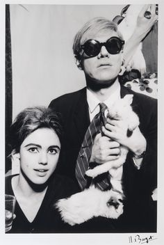 edie sedgwick | fig56:Andy Warhol and Edie Sedgwick by Jean-Jacques Bugat, 1966
