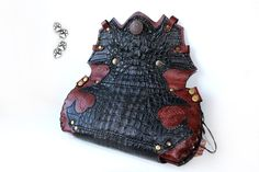 4lapki кошелёк женский кожа крокодил ручная работа / wallet purse leather crocodile handmade