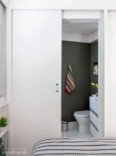 Missoni towels yes please! Sliding Wall, Sliding Doors, Small Space Living, Small Spaces, Loft Studio, Basement Bathroom, Home Repair, Small Apartments, Bathroom Inspiration