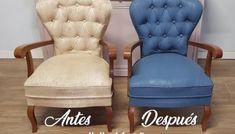 Como pintar la tela de un sillón