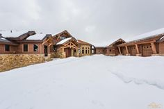 The Pagosa Peak Lodge is located in the quaint town of Pagosa Springs, CO and designed to capture the surrounding breathtaking mounatain views. Mountain Style, Mountain Homes, Cabin Design, Home Photo, Log Homes, Rustic Style, Lodges, Wyoming, Custom Homes