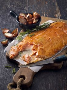 hot smoked salmon || Melanie Jenkins via Production Paradise
