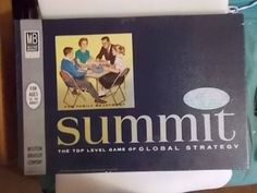 Vintage 1961 Summit Board Game Unused Pieces Still Shrink Wrapped Cold War by ToyHound on Etsy