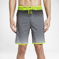 "Hurley Phantom Hyperweave 'Flow' Elite Men's 18.5"" Board Shorts Size 38 - Clearance Sale"