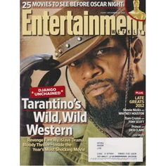 Entertainment Weekly | Django Unchained | Stevie Nicks | Tom Cruise | December 21, 2012 #1238