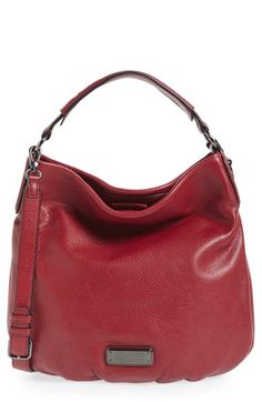 MARC BY MARC JACOBS 'New Q Hillier' Hobo at Nordstrom.com. Everything you love about the Classic Q Hillier—the slouchy style, the workwear-inspired logo, the adjustable strap—is featured in this modern hobo that has a fresh, streamlined look. The roomy interior and go-with-anything attitude make this the perfect go-to bag for your collection.