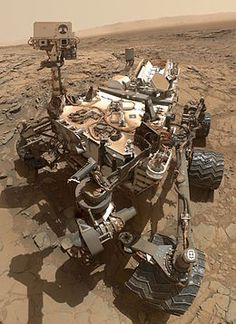 NASA's car-sized robotic rover, manufactured by NASA's JPL, Boeing and Lockheed Martin.