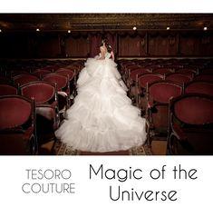 Magic of the Universe - wedding dress collection Tesoro couture Girls Dresses, Flower Girl Dresses, Dress Collection, Couture, Bridal, Wedding Dresses, Fashion, Bridal Dresses, Moda