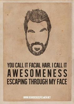 Let the awesomeness out on your face! http://szakallgyar.hu