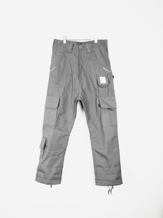 Lou & Grey Size 8 Gray Cargos Never Worn To Have Both The Quality Of Tenacity And Hardness Pants