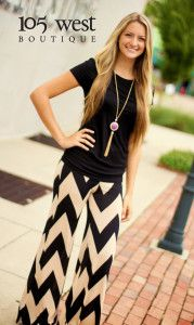 "The ""Tris"" Chevron Palazzo Pants! Available in Garnet or Black! $32.99! Visit www.105westboutique.com to order!"