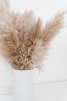 Dried Flower Bouquet, Dried Flowers, Grass Decor, Flower Phone Wallpaper, Decoration Plante, Dried Flower Arrangements, Instagram Frame, Pampas Grass, White Aesthetic