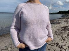 Rilletrøje: Gratis strikkeopskrift her Knitted Hats, Crochet, Men Sweater, Pullover, Knitting, Sweaters, Dawn, Design, Fashion
