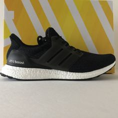 DS Adidas Ultra Boost 3.0 Core Black Size 12