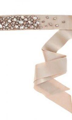 Wedding dress accessories sash belt champagne jcrew beachwood 175