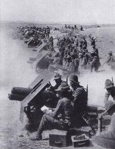 Prise de guerre d'origine austro-hongroise, l'obusier de 75/13 resta tout au long de la seconde guerre mondiale la pièce symbole des régiments d'artil...pin by Paolo Marzioli