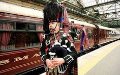 A Pipers welcome at Waverley Station ~ Edinburgh, Scotland