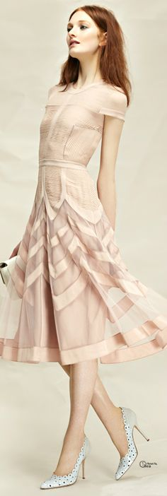 Temperley London ● 2013, Cocktail Dress The color, material, cut, etc. Love the entire look