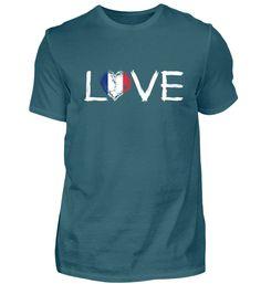Liebe Heimat Wurzeln herkunft Stolz Land Frankreich T-Shirt T Shirt Designs, Basic Shirts, Mens Tops, Leiden, Monster, Frankenstein, Afghanistan, Form, Holland