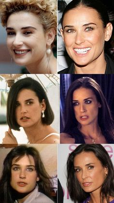 Celebrity Demi Then And Now Plastic Surgery Before And After - http://www.celeb-surgery.com/celebrity-demi-then-and-now-plastic-surgery-before-and-after/?Pinterest