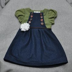 """Gives me the idea to sew a """"shrug"""" onto some of the girls jumpers for cooler weather."""