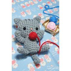 Crochet amigurumi pattern PDF - Kitty cat doll