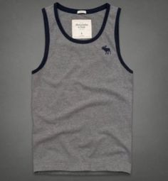 Abercrombie and Fitch Mens Tank Top Tahawus Mountain XXL Gray | eBay