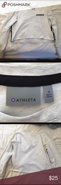 BRAND NEW Athleta long sleeve I got this a few years ago and wore it once. It has been sitting in my closet ever since and it is in perfect condition with zero signs of wear. Make an offer! Athleta Tops