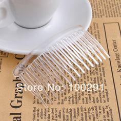 Free Shipping !!! A-834 300pcs/lot Larger plastic hair comb high density 16teeth $67.88