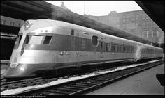 The Comet was a diesel electric streamliner built in 1935 for the New York, New Haven and Hartford Railroad by the Goodyear-Zeppelin Company. Smaller than the other streamliners, it was a three-car, double-ended train that could operate in both...