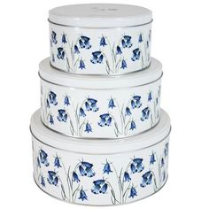 Bluebell Collection Set of 3 Cake Tins | Dunelm Mill