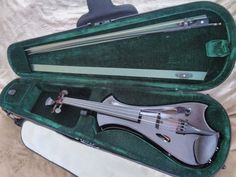 Meisel Spitfire E-Fusion Electric Violin w/ Fitted Case and Bow
