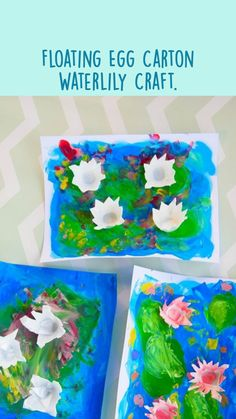 Craft Activities For Toddlers, Preschool Crafts, Fun Crafts, Crafts For Kids, Early Elementary Resources, Art Education Resources, Recycled Crafts Kids, Egg Carton Crafts, Summer Crafts