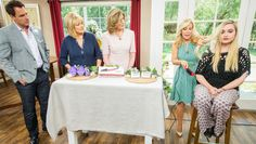 Friday, April 22nd, 2016 | Home & Family | Hallmark ChannelBeauty Breakthroughs  Kym Douglas has a list of great beauty products that she considers breakthroughs. This includes a mud firming treatment that you place on your face to tighten your skin, a styling brush that heats up to help you manage your hair's volume and frizz and finally, nail snaps, which allow you to put fun art on your nails without going to a nail salon.
