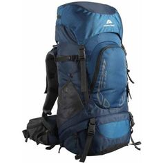 Ozark Trail Hiking Backpack Eagle, 40L, Blue, Hydration Compatible, Durable Poly Fabric Material, Ideal for Heavy Loads for Camping, Hiking, Travel and Other Outdoor Activities, TB2138-40L * Continue to the product at the image link.