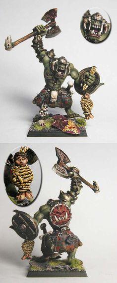 WFB Orc Warboss by karaikal