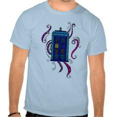 Blue Box - Men's T-shirt by Sneddonia on Zazzle